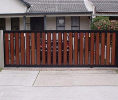 minimalist front gate designs for small home