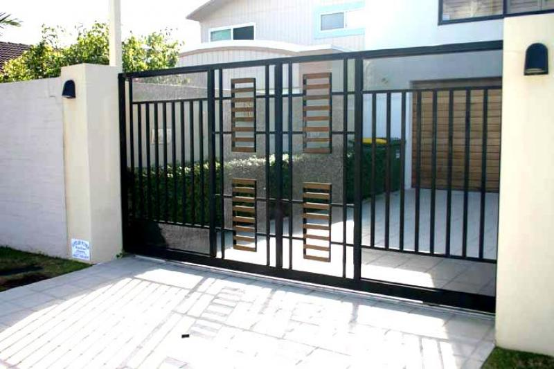 Minimalist gate design for Front gate design