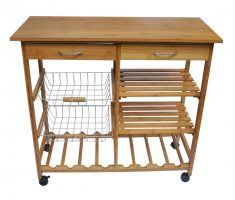 minimalist kitchen island cart