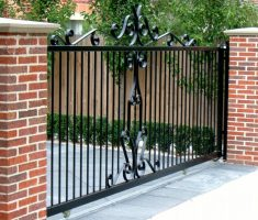 minimalist small front gate designs for small house