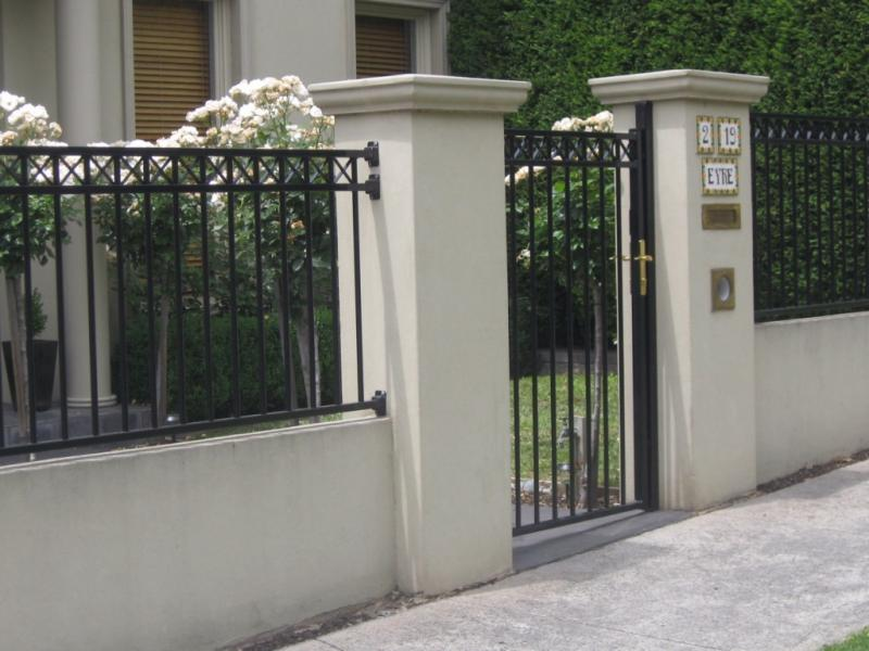 Minimalist Small Front Gate Designs For House And Fence