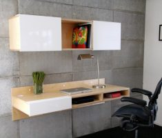 minimalist wall mount shelf design for home office furniture