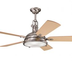 modern 5 wings ceiling fans with lights by kichler