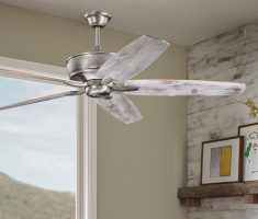 modern chrome ceiling fans with lights by kichler