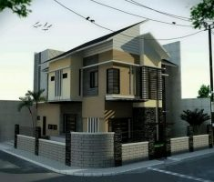 modern fence with brick material also minimalist metal front gate designs for small modern house