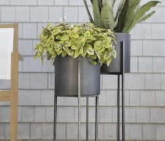 modern garden pots for indoor room planter