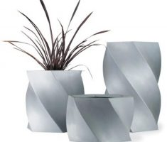 modern garden pots for indoor with unique shape