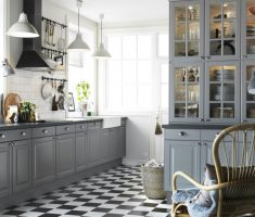modern grey ikea kitchen cabinets inspirations