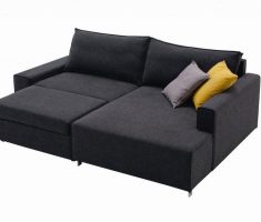 modern ikea black small sofa bed sleeper with storage