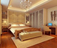modern master bedrooms decoration warm theme