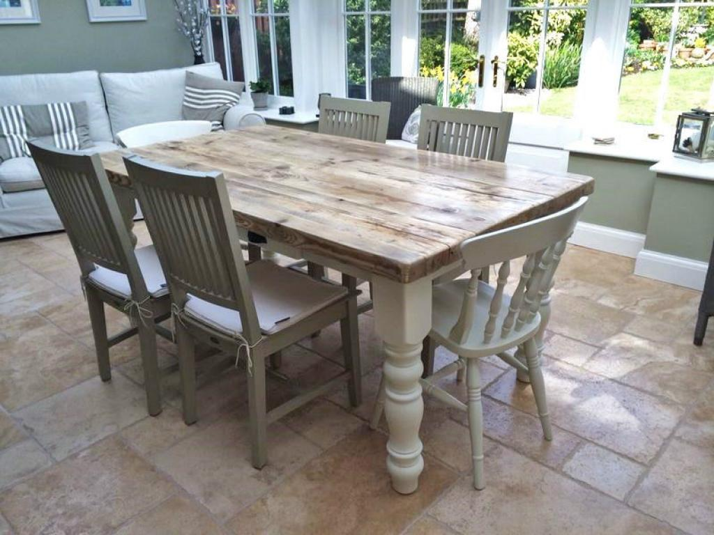 Modern Rustic Farmhouse Dining Table