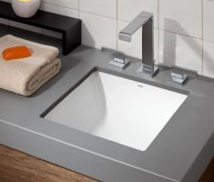 modern small grey undermount bathroom sinks square size