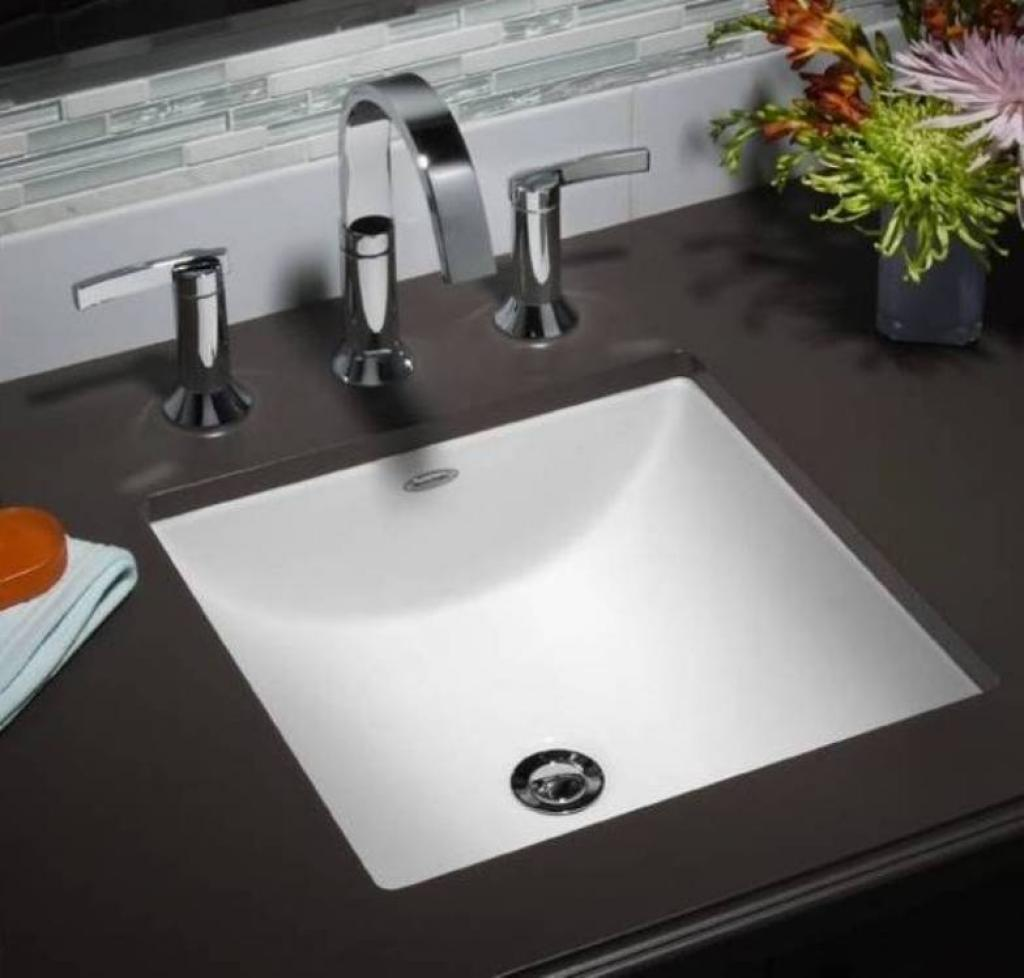 how to install undermount bathroom sink to granite how to instal an undermount bathroom sinks 26395