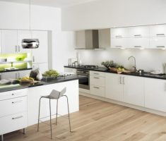 modern white ikea kitchen cabinets for minimalist decor