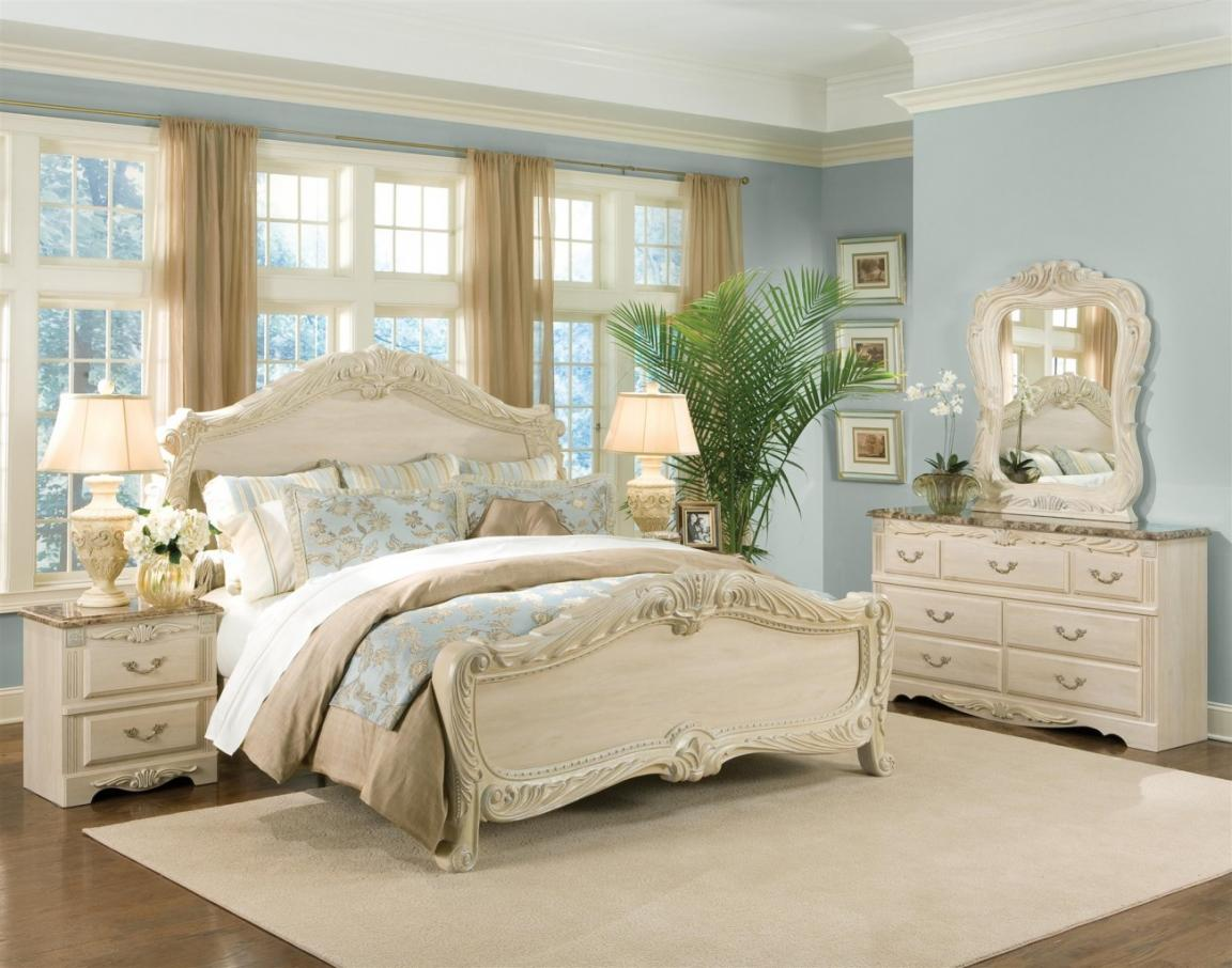 White rustic bedroom furniture - Modern White Rustic Bedroom Furniture Royal Country