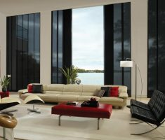 modern window treatments for apartment