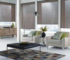 modern window treatments for small living room