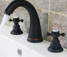 nice black bronze modern bathroom faucets