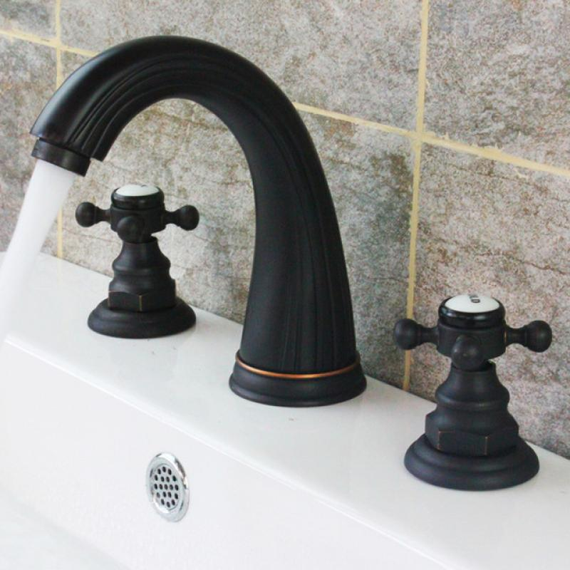 Modern bronze bathroom faucets 28 images bathroom for Black faucets for bathroom