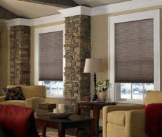 nice small modern window treatments