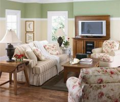 paint colors for living room with green lime and ivory wall