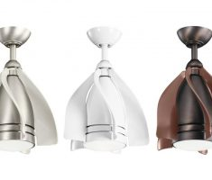 pendant ceiling fans with lights by kichler bronze chrome and brown