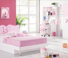pink mild girls bedroom furniture