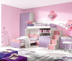 pink and purple girls bedroom furniture