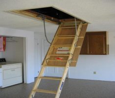 pull down attic stairs