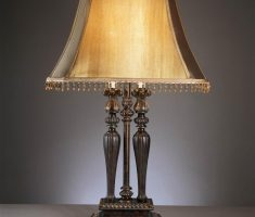 rustic bronze table lamps for living room