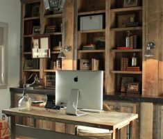 rustic chandelier light shade designs for home office