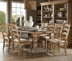 rustic modern farmhouse dining table style design