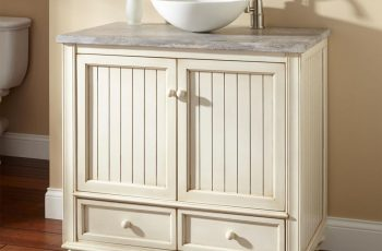 rustic-white-wood-vessel-sink-vanities