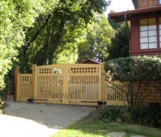 simple front gate designs
