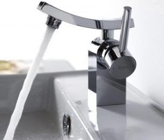 simple modern bathroom faucets chrome design