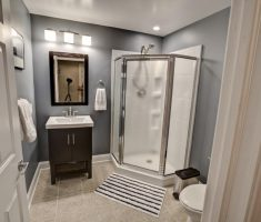 small basement bathroom ideas for small space