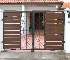 small beauty front gate designs for small house