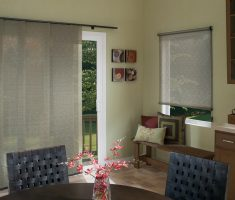 small curtains for sliding glass doors for minimalist decor