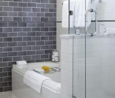 small grey traditional bathroom designs theme