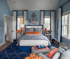 small master bedrooms decoration with blue rug