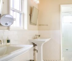 soft traditional bathroom designs theme color