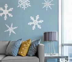 star snow particle for removable wall decals inspirations