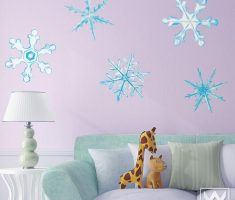 star snow for removable wall decals inspirations