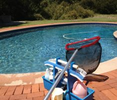 tools for maintenance swimming pool
