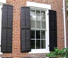 traditional modern window treatments exterior