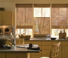traditional modern window treatments for kitchen