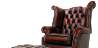 tufted-leather-high-back-chair-with-ottoman