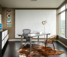 unique floor light shade designs for home office