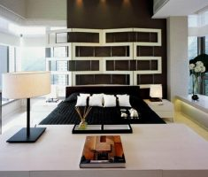 unique modern master bedrooms decoration on house mountain