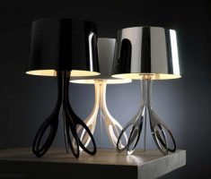 unique modern table lamps for living room